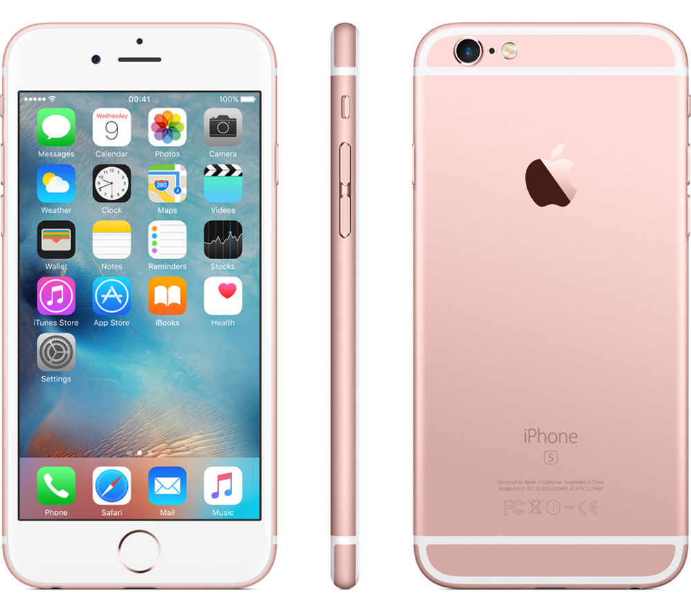 Pre Owned Unlocked Apple Iphone 6s Rose Gold 16gb Nur S Shop